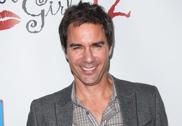 Actor Eric McCormack, April Milestone