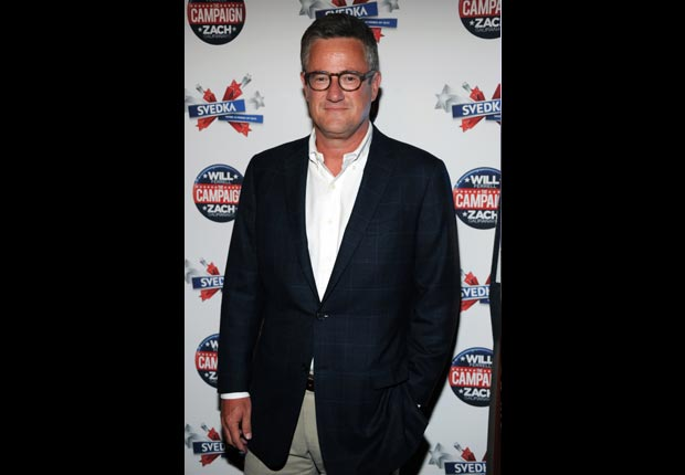 Joe Scarborough, April Milestone