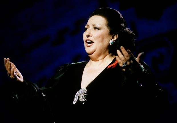 Cantante Montserrat Caballe - Cumpleaños en abril.