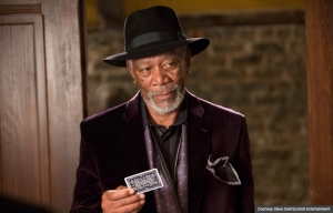 Morgan Freeman in Now You See Me (Courtesy Steve Dietl/Summit Entertainment)
