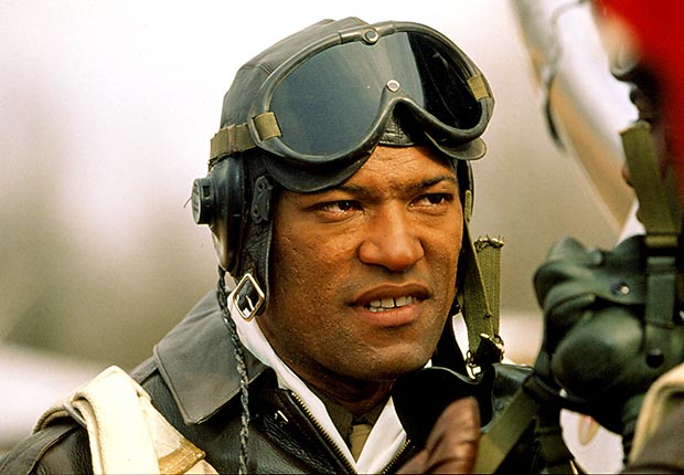 Laurence Fishburne in The Tuskegee Airmen, War Movies Slideshow