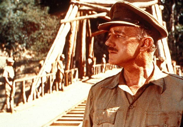 Alec Guinness in The Bridge on the River Kwai, War Movie Slideshow