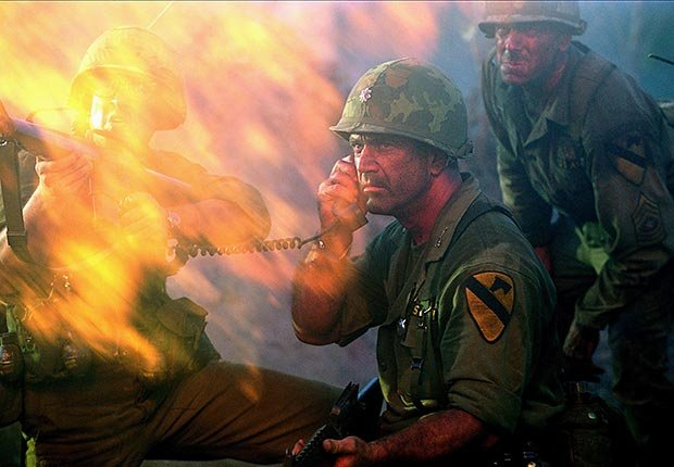 Mel Gibson in We Were Soldiers, War Movie Slideshow