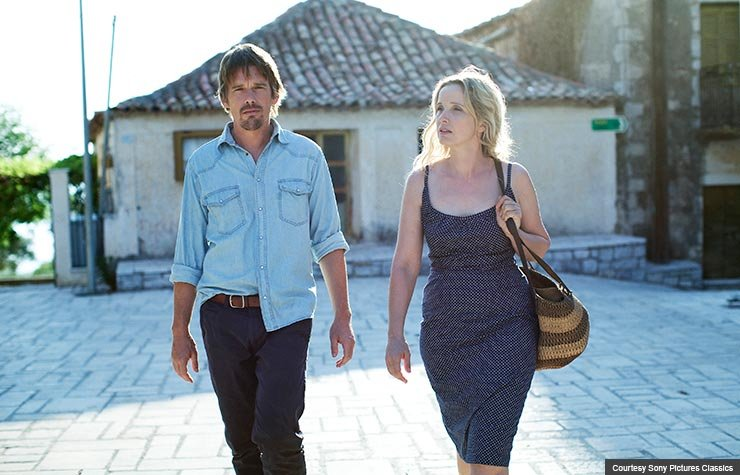 Ethan Hawke and Julie Delpy in Before Midnight (Courtesy Sony Pictures Classics)