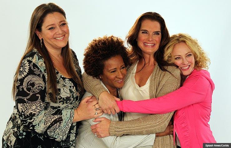 The Hot Flashes con Brooke Shields, Wanda Sykes, Virginia Madsen y Camryn Manheim - Películas para este verano
