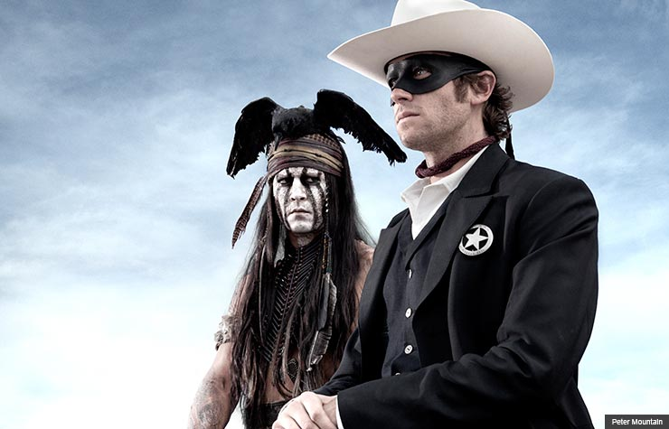 Summer movies for grownups aarp premiere preview 2013 bill newcott familiar 50 faces lone ranger (Peter Mountain)