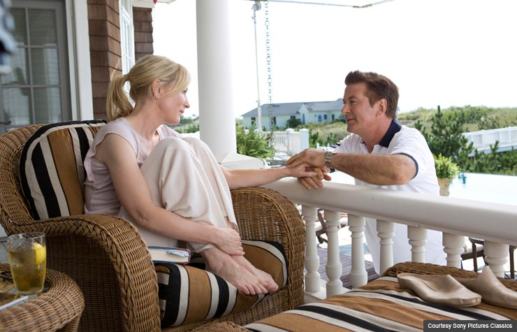 Cate Blanchett and Alec Baldwin in Blue Jasmine. (Courtesy Sony Pictures Classics)