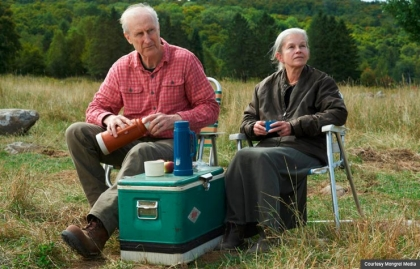 James Cromwell and Genevieve Bujold in Still Mine. (Courtesy Mongrel Media)
