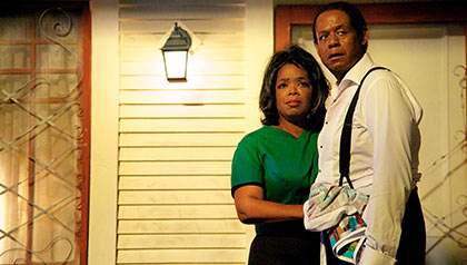 Oprah Winfrey and Forest Whitaker star in The Butler.