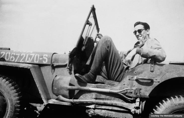 Vintage photo of JD Salinger. (Courtesy The Weinstein Company)