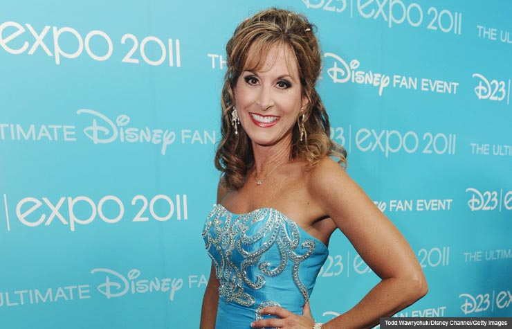 Jodi Benson, the voice of Ariel in The Little Mermaid, is 52. (Todd Wawrychuk/Disney Channel/Getty Images)