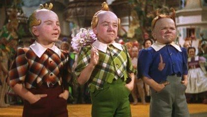 The Munchkins in the Lollipop Guild