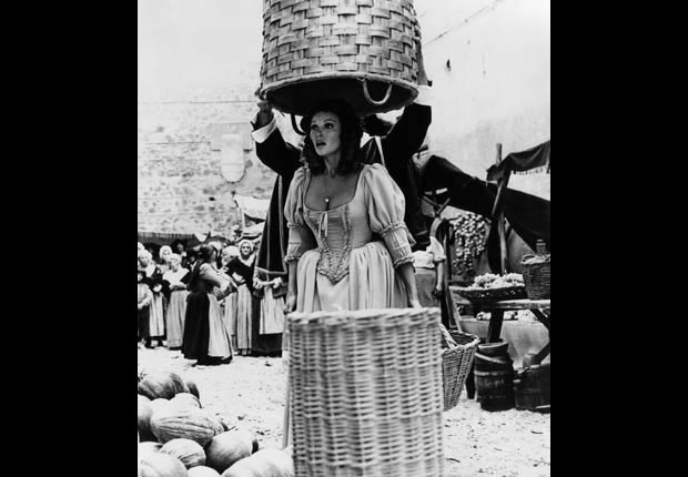 Raquel Welch in THE FOUR MUSKETEERS (Courtesy Everett Collection)