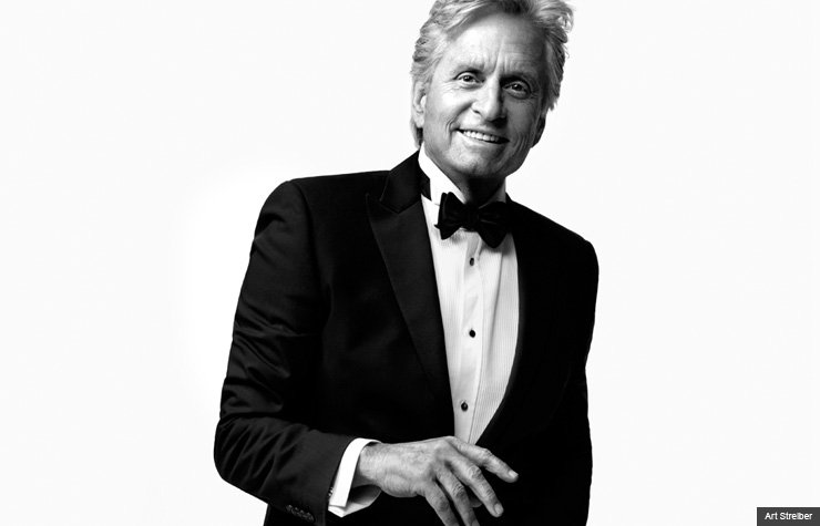 Something is. Michael douglas young and nude business!