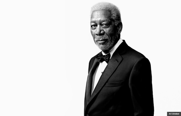 Morgan Freeman en la película Last Vegas con Michael Douglas, Kevin Kline & Robert De Niro