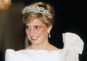 Princesa Diana en 1986.