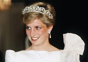 Princess Diana, 1986.