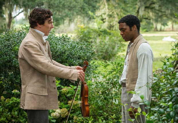 Benedict Cumberbatch and Chiwetel Ejiofor in 12 Years a Slave (Pictorial Press/Alamy)