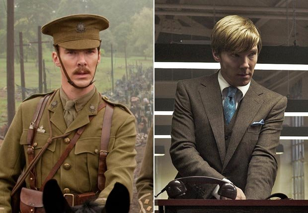 Benedict Cumberbatch in War Horse and Tinker Tailor Soldier Spy (Touchstone Pictures/Focus Features/Everett Collection)
