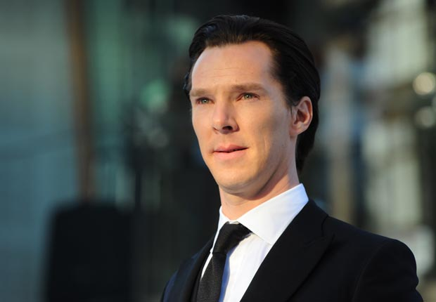Benedict Cumberbatch at UK premier of Star Trek: Into Darkness. (Stuart C. Wilson/Getty Images)