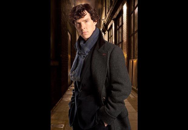 Benedict Cumberbatch in Sherlock. (BBC/Everett Collection)