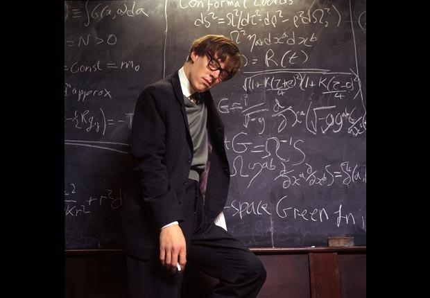 Benedict Cumberbatch in Hawking, 2004. (BBC/Photofest)