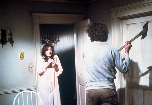 movies scary truly horror halloween classic amityville rosemary's poltergeist thing carrie silence lambs deliverance snatchers alien blair witch ring haunting haunted changeling shining exorcist jaws (American International/Photofest)