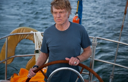 Robert Redford in All is Lost.