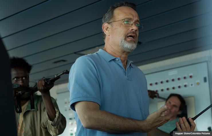 Tom Hanks in Captain Phillips. (Hopper Stone/Columbia Pictures)