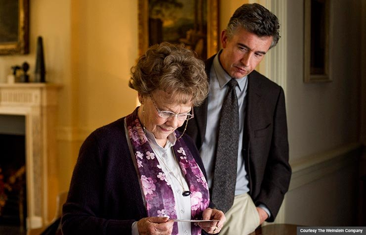 Judi Dench and Steve Coogan star in Philomena. (Courtesy The Weinstein Company)