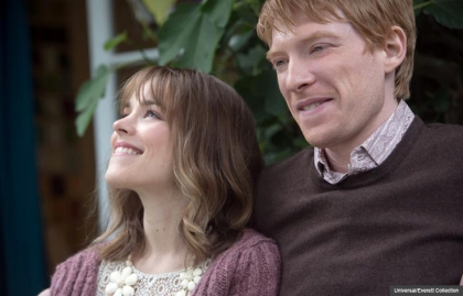 Rachel McAdams and Domhnall Gleeson in About Time. (Universal/Everett Collection)