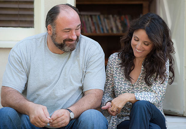James Gandolfini and Julia Louis-Dreyfus in Enough Said. Top 10 Movies of 2013.