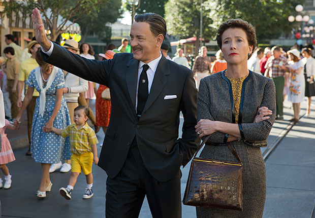 Tom Hanks and Emma Thompson in Saving Mr. Banks. Top 10 Movies of 2013.