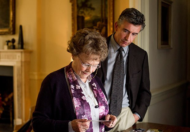 Judi Dench and Steve Coogan in Philomena. Top 10 Movies of 2013.