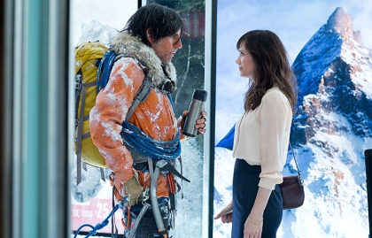 Ben Stiller and Kristen Wiig in The Secret Life of Walter Mitty.