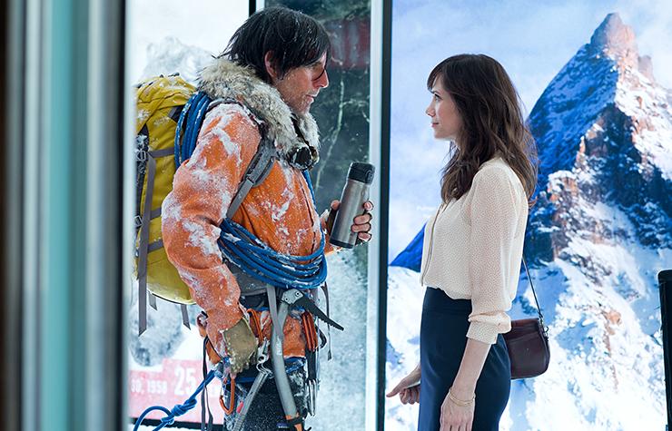Ben Stiller and Kristen Wiig in The Secret Life of Walter Mitty.