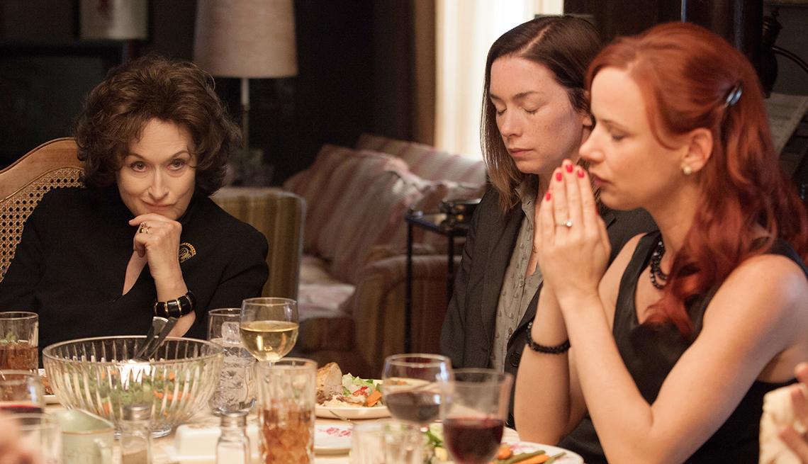 Meryl Streep, Julianne Nicholson, Juliette Lewis, August: Osage County