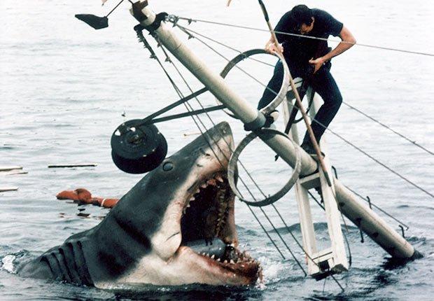 Escena final en la película Tiburón - Películas esenciales para los boomers