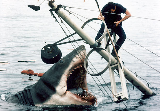Final scene in the movie Jaws, Reader poll Boomer Movies
