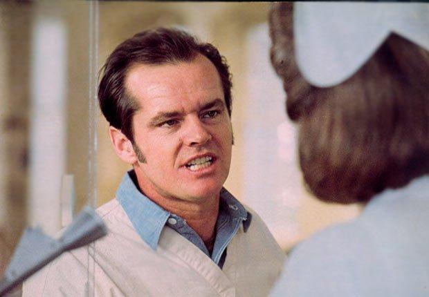 One flew over the cuckoo's nest con Jack Nicholson - Películas esenciales para los boomers