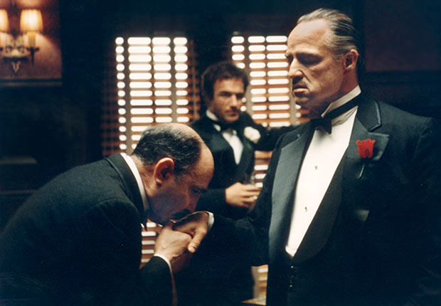THE GODFATHER with JAMES CAAN and MARLON BRANDO, Reader poll Boomer Movies