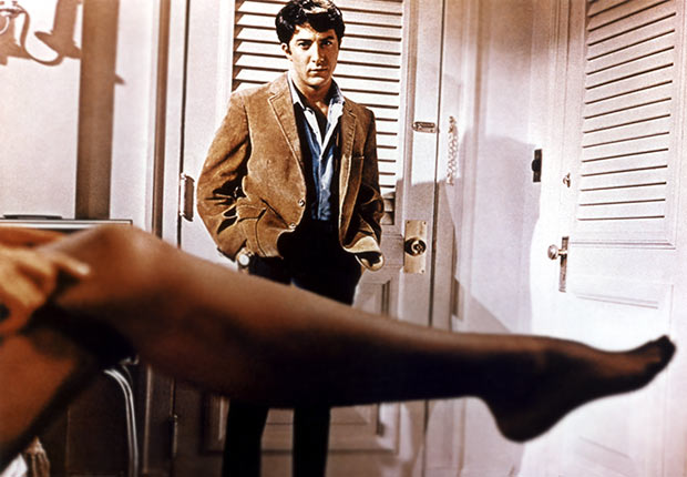 THE GRADUATE  with Dustin Hoffman and Anne Bancroft, Reader poll Boomer Movies