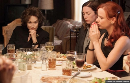 Meryl Streep, Julianne Nicholson and Juliette Lewis in August: Osage County (Courtesy The Weinstein Company)