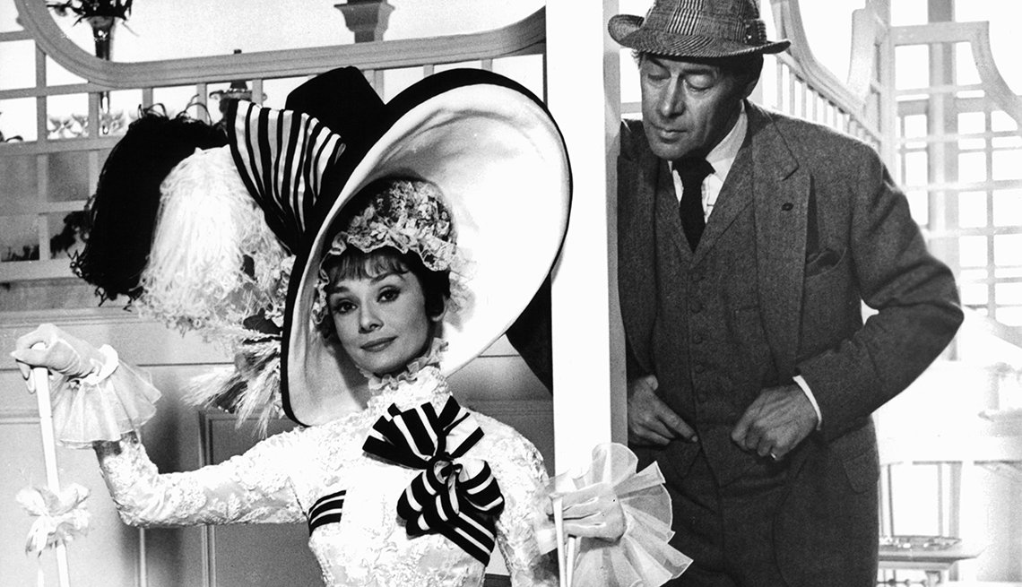 Audrey Hepburn, Rex Harrison, My Fair Lady, costumes