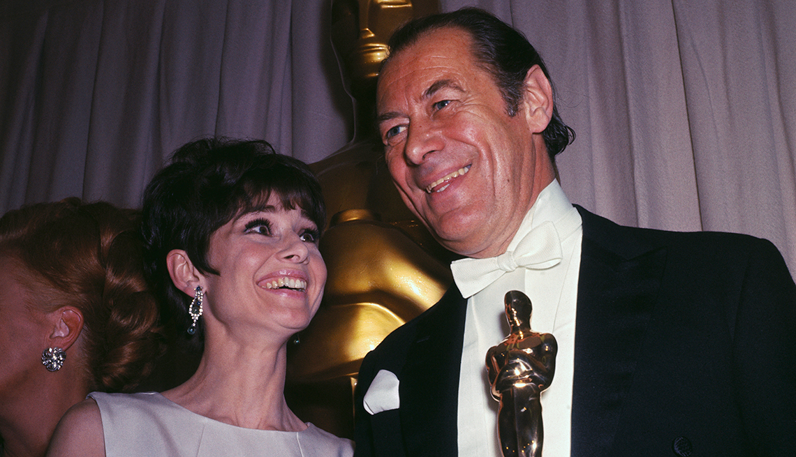 Audrey Hepburn, Rex Harrison, Academy Award, My Fair Lady