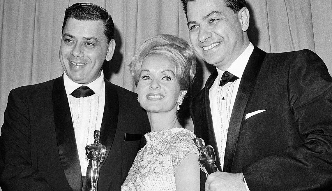 Robert Sherman, Richard Sherman, Debbie Reynolds, My Fair Lady, Best Original Score
