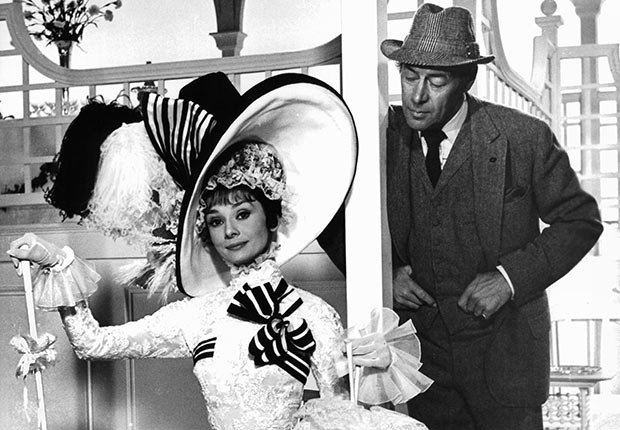 Audrey Hepburn And Rex Harrison In 'My Fair Lady'