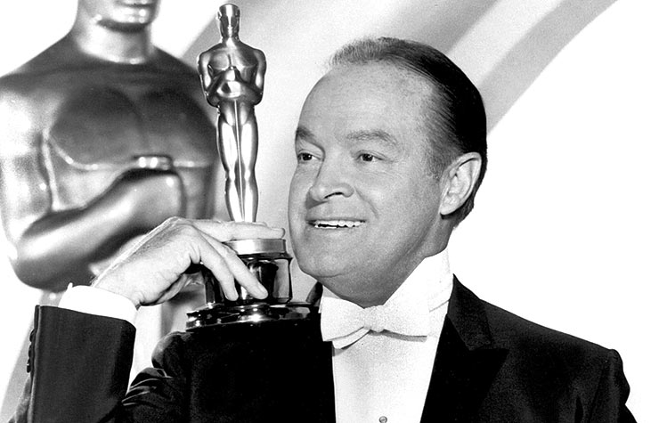 Academy Awards host Bob Hope.