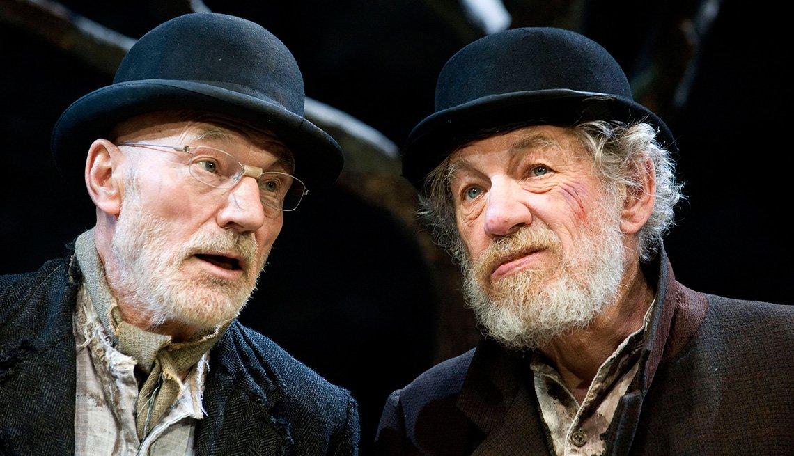 Sir Ian McKellen, Sir Patrick Stewart, Actors, Play, Waiting For Godot, Patrick Stewart Interview