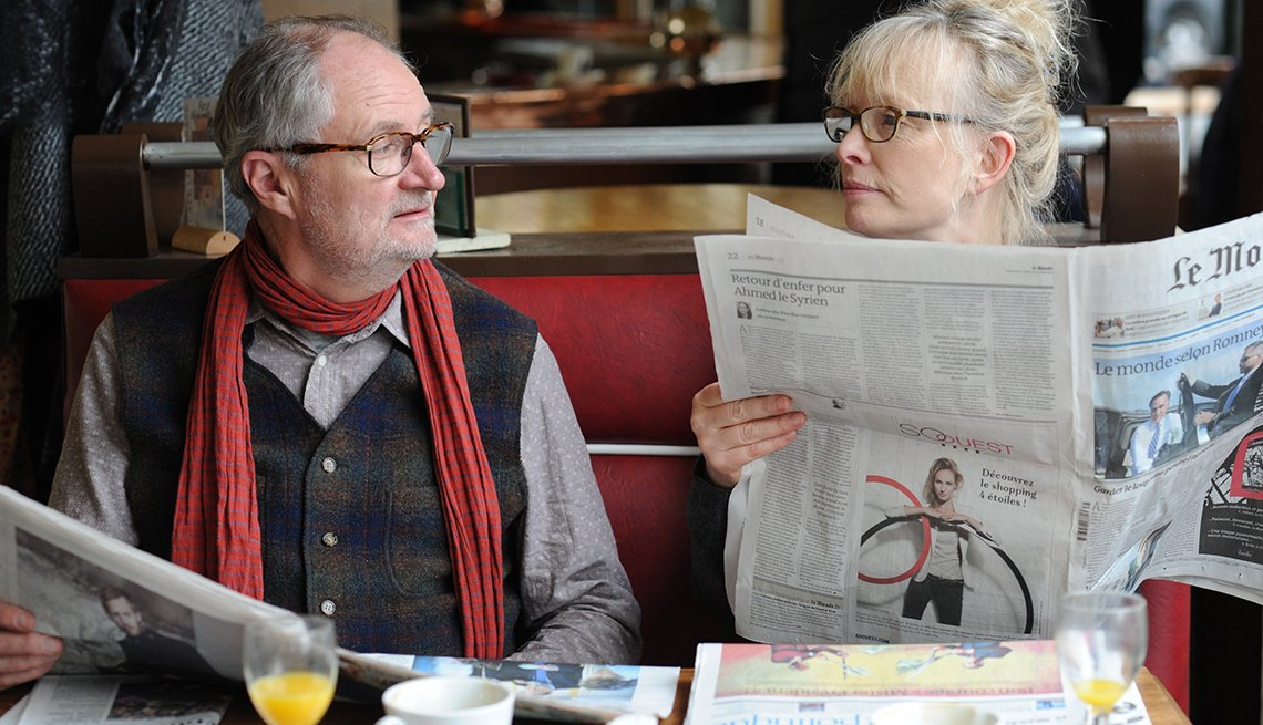 Le Weekend, Lindsay Duncan, Jim Broadbent, movie review